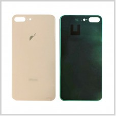 Big Hole-Rear Glass Battery Back Cover Housing Replacement For iPhone 8 Plus Gold