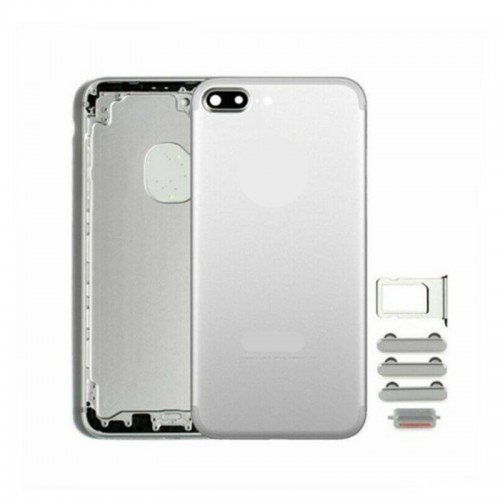 Metal Battery Back Housing Rear Cover Replacement For iPhone 7 Plus Silver