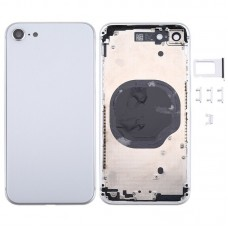Original Metal Battery Back Housing Rear Cover Replacement For iPhone 7 Silver