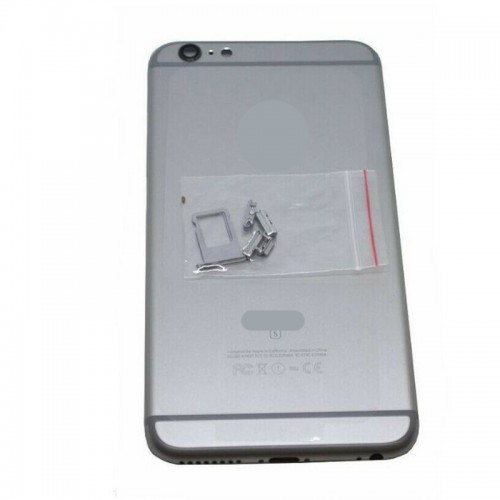 Original Metal Battery Back Housing Rear Cover Replacement For iPhone 6 Plus Silver