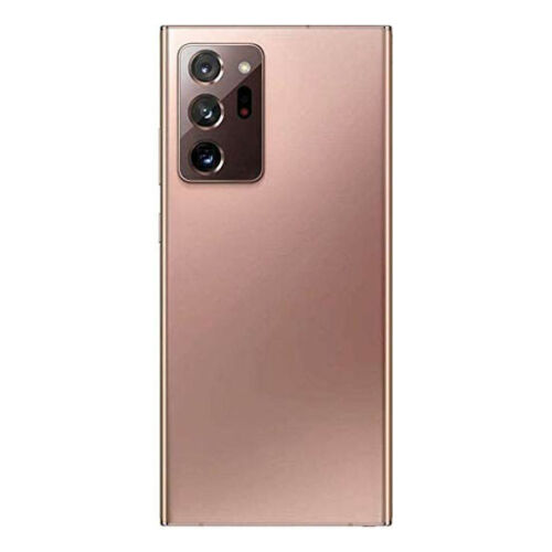 For Samsung Galaxy Note 20 Ultra/5G Rear Glass Battery Back Cover Housing+Camera Mystic Bronze