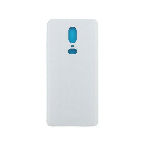 Replacement For OnePlus 6 Rear Glass Door Back Battery Cover White