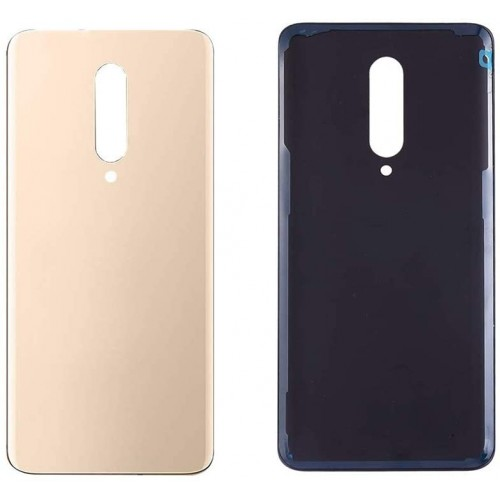 For OnePlus 7 Pro Battery Cover Back Glass Cover Rear Case Housing Adhesive Part Gold