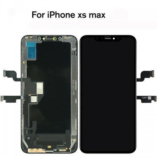 For iPhone XS Max - LCD Display 3D Touch Screen Digitizer Assembly Replacement Black