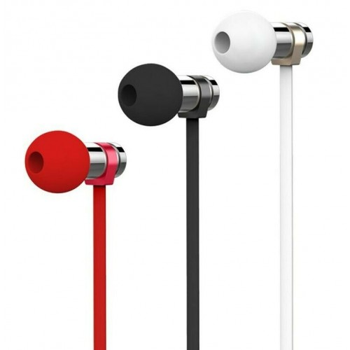 REMAX RM-565i HQ Stainless Steel Stereo In-ear Earphone Headset with Mic Red