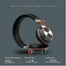 Remax Wireless Bluetooth Headphones Stereo Sound Noice Cancelling Headset w/ Mic Black