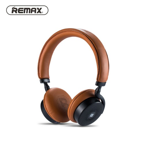 Remax Bluetooth 4.1 Wireless HD Sound Headphone ANC Noise Cancelling Headset  Brown