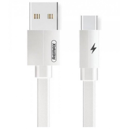 REMAX TYPE-C Fast Charging Data Cable for SAMSUNG S20 S10 S9 S8 plus note Huawei 1m White