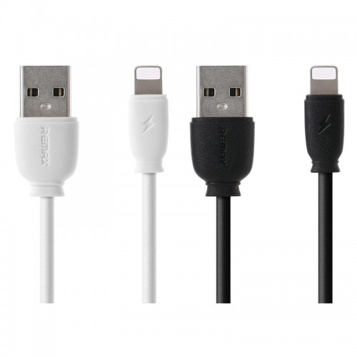 Remax RC-134i Lightning 2.1A USB Charge Data Cable For iOS 1m Black
