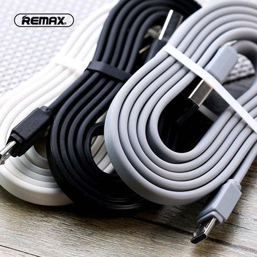 Remax RC-129i Strong Flexible Lighting Cable For iPhone (IOS) 1m White