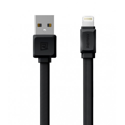 Remax RC-129i Strong Flexible Lighting Cable For iPhone (IOS) 1m Black