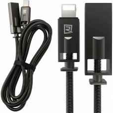 Remax Fast Charging Lightning USB Data Cable For iPhone 12 11 pro Max XS iPad 1m Black