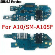 For Samsung Galaxy A10 A105 USB Charging Connector Port Dock Mic Board SUB 0.2
