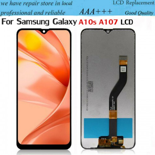 For Samsung Galaxy A10s A107 LCD Display Touch Screen Digitizer Replacement Black