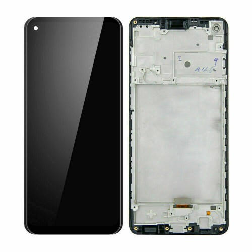 For Samsung Galaxy A21s 2020 SM-A217F LCD Display Screen Touch Digitizer + Frame Black