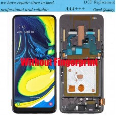 For Samsung Galaxy A80 SM-A805F/DS LCD Display Screen Touch Digitizer With Frame Black