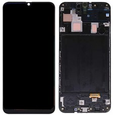 For Samsung Galaxy A30 LCD Display Screen Touch Digitizer + Frame Black