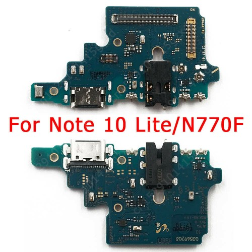 For Samsung Galaxy Note 10 Lite SM-N770F USB-C Charging Connector Port Mic Board