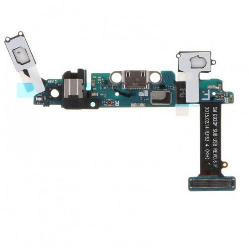 For Samsung Galaxy S6 G920 USB Dock Charging Port Mic Ribbon Flex Cable Sensors