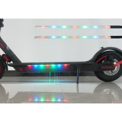 Colorful LED Strip Bar Lamp Night Light For Xiaomi M365/M187/1S/Pro 2 Scooter