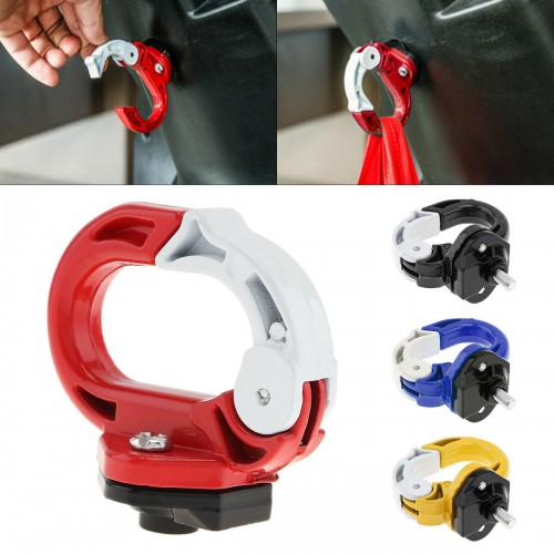 For Xiaomi M365/Pro/ 1S /Pro 2 Scooter Hanging Bag Aluminium Alloy Bag Hook Claw Red