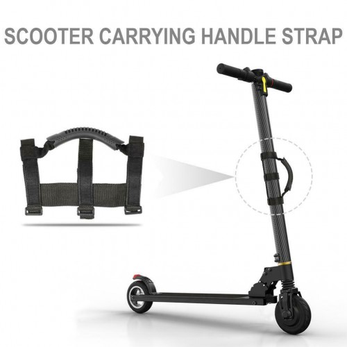 UK Universal Folding Scooter Hand Carrying Handle Strap For Xiaomi M365 Ninebot Black