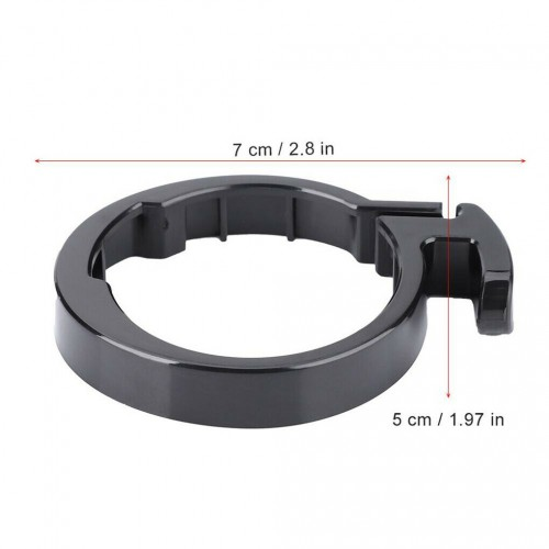 For Xiaomi M365 Pro Electric Scooter Round Locking Ring Clasp Folding Mechanism Black