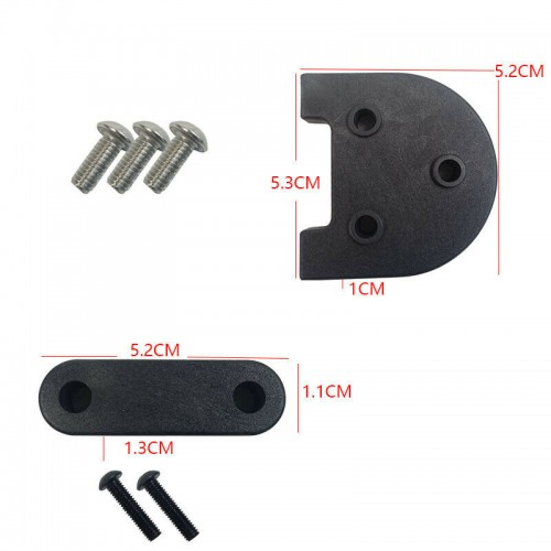 For Xiaomi M365 Scooter Foot Stand Rear Fender Height Support Lift Pad + Screw Set