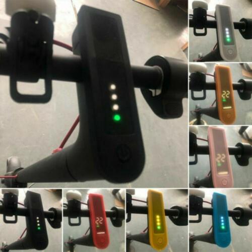 For Xiaomi Mijia Mi 1S & Mi Pro 2 Scooter Silicone Dashboard Protect Cover Case Orange
