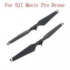 1 Pair of DJI Mavic Pro Drone Folding Quick Release 8330F Propellers Roto Blades Black