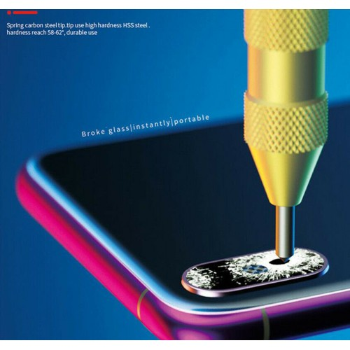 Glass Breaking Pen For iPhone 11 12 Pro Max Back Camera Lens Glass Repair Tools