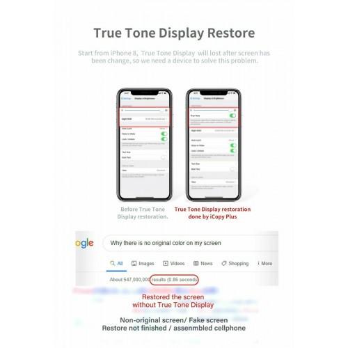 QianLi iCopy Plus V2.1- iPhone Battery LCD Screen True Tone Display Test Repair