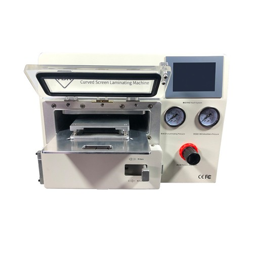 TBK-508A Laminator with Autoclave for iPhones/Samsung Edge and iPad + 11 Moulds