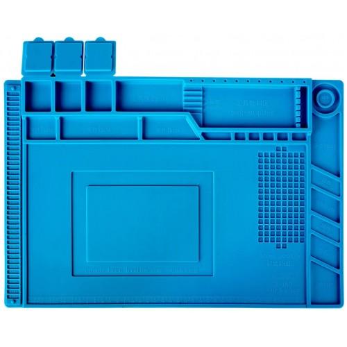 S160 with magnetic silicone repair workbench Blue