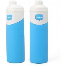 Foldable Water Bottle 500ml Sky Blue